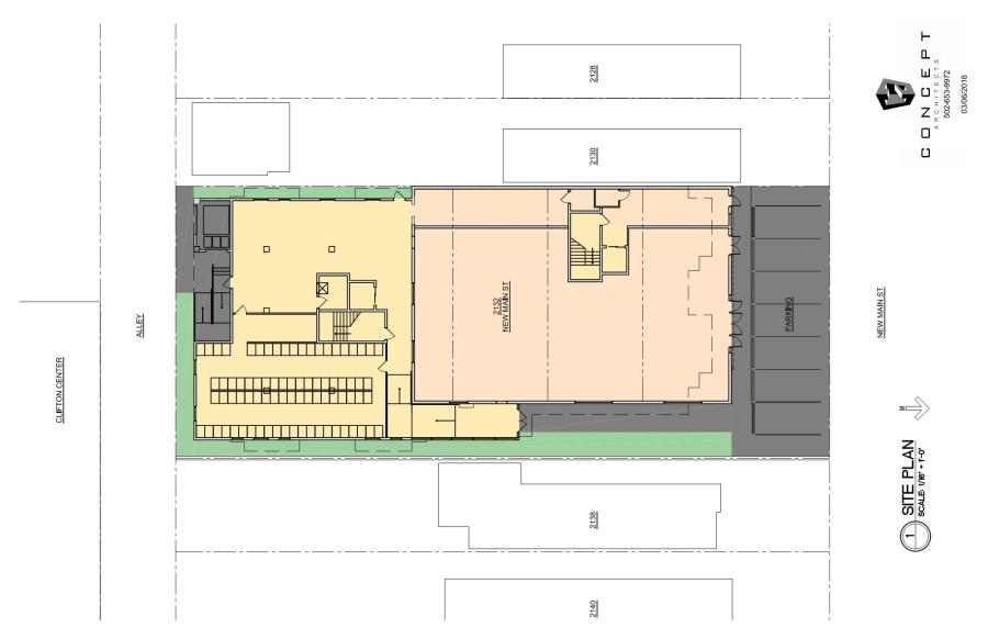 Site Plan Frankfort Crossing 030618
